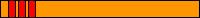 10.3 KYU(pomarańczowy pas + 3 czerwone pagony)