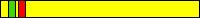 5.1 KYU (żółty pas + 1 czerwony pagon + 1 zielony pagon)