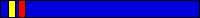 7.1 KYU (niebieski pas + 1 czerwony pagon + żółty pagon)
