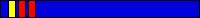 7.2 KYU (niebieski pas + 2 czerwone pagony + żółty pagon)