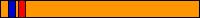 9.1 KYU (pomarańczowy pas + 1 czerwony pagon + 1 niebieski pagon)