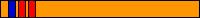 9.2 KYU (pomarańczowy pas + 2 czerwone pagony + 1 niebieski pagon)