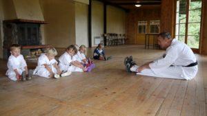 Treningi w Szkółce w Leźnie