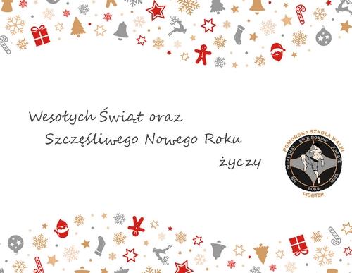 Wspaniałych Świąt Bożego Narodzenia wypełnionych radością i miłością, przepełnionych spotkaniami z najbliższymi, a także pomyślności i spełnienia marzeń i planów w Nowym Roku 2017.